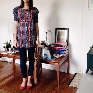 Anthropologie Akemi + Kim pattern tunic